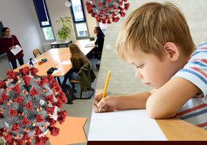 Akademické gymnázium ve Štěpánské ulici muselo v pátek 4. září přerušit výuku. Jeden ze studentů se nakazil koronavirem. (ilustrační foto)