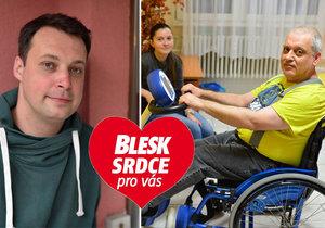 Nepříznivý osud je posadil na vozíček: Žijí naplno díky asistentům!