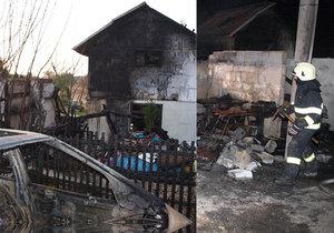 Radek přišel při požáru o vše: Poslal dojemné poděkování sousedům a přátelům, kteří mu pomohli