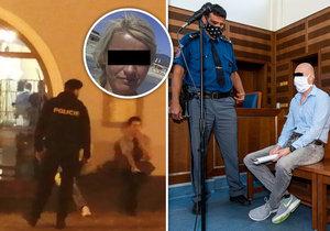 Vrah manželky z Rychnova nad Kněžnou dostal 14 let: Po vynesení rozsudku poslal vzkaz dětem