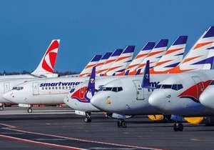 Flotila letadel aerolinek Smartwings