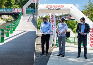 Konec kličkování pod mostem v Čuprově ulici v Libni: Nová cyklostezka je v provozu!