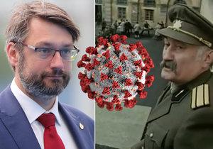 Syn majora Terazkyho Landovský prodělal koronavirus. Velvyslanec při NATO ztrácel čich a chuť. Misi prý neohrozil