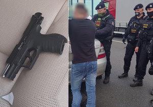 """VIDEO: Řidiči sanitky hrozil muž z vedlejšího auta pistolí! """"Žádnou nemám,"""" lhal pak policistům"""