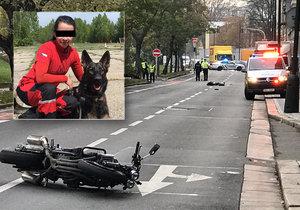Tragická smrt záchranářky Petry (†35): Smetl ji motorkář, policie ho obvinila! Jel příliš rychle
