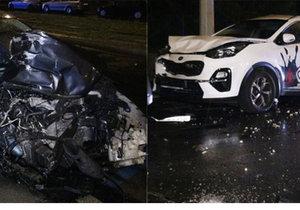 To je spoušť! Opilec za volantem řádil na Petřinách, zdevastoval čtyři auta