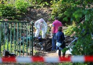 Hrůzný nález v pražské Stromovce! Lidské kosti ležely za plotem mezi smetím