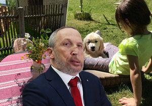 Klaus mladší se pochlubil novým přírůstkem do rodiny. Od maminky Livie dostal jasný úkol