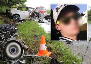 Petr (†26) miloval rychlou jízdu v BMW: Zabil sebe i rodiče malé holčičky (4)