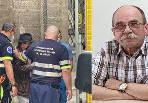 Nezvěstný skladatel Jaroslav Uhlíř (74) se našel: Policie ho převezla do nemocnice