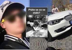 Poslední záběry před smrtí: Petr se řítil obcí 130 km/h, pak zabil rodiče malé holčičky (4)