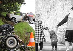 Holčičce (4) zabil mladík v BMW oba rodiče: První slova zdrcené rodiny