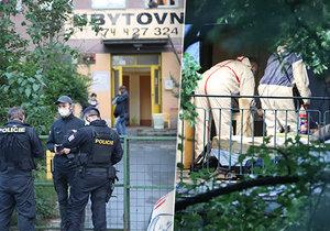 Vražda na ubytovně v pražských Strašnicích? Smrt muže vyšetřují kriminalisté.