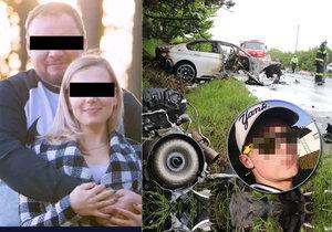 Dojemné poslední sbohem Radkovi a Janě z tragické nehody u Černožic: Viník mít pohřeb nebude?