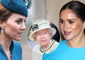 Meghan Markleová proti sobě poštvala královskou rodinu už čtvrtý den po své svatbě.