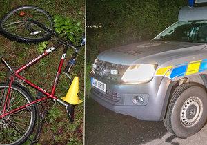 Na Vsetínsku našli v příkopě mrtvého cyklistu.