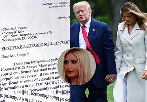 Trumpova rodina podává stížnost na novou knihu, prezidenta by mohla poškodit