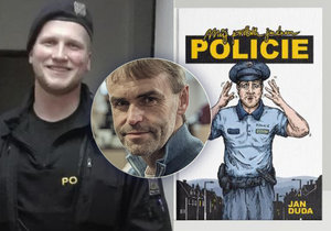 Bývalý policista Jan Duda napsal knihu o svém působení u policie.