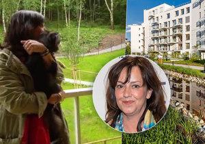 New housing for Tereza Brodská