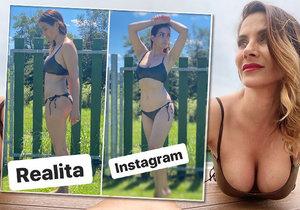 Eva Decastelo showed what she looks like before the adjustments