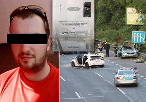 Policista Pavol (†31) měl před svatbou, teď rodina chystá pohřeb: Smetla ho zdrogovaná a opilá řidička