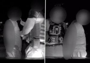 Řidič (21) si dal pervitin a na Smíchově vjel tam, kam neměl: Policisté u něj našli další drogy