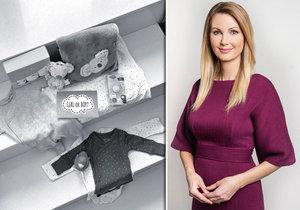 Moderátorka Sandra Pospíšilová prozradila, zda čeká holčičku nebo chlapečka.