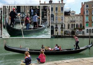 Turisté tloustnou a nevejdou se do gondol: V Benátkách museli snížit počet lidí, kteří můžou na palubu