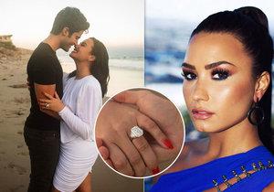 Demi Lovato se zasnoubila