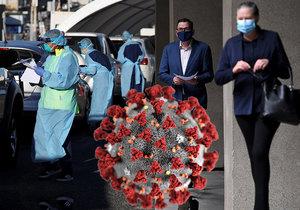 Australané dostanou zaplaceno za to, že podstoupí test na koronavirus a zůstanou doma
