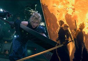 Final Fantasy VII Remake je osobitá předělávka kultovního JRPG.