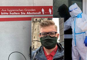 Čech Ondřej prožil pandemii v Německu.
