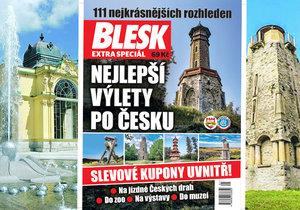 Zamiřte ochutnat  minerální prameny  západních Čech. A přibalte si s sebou bedekr Blesku.