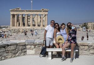 Řecko v době pandemie koronaviru (31. 7. 2020)