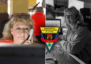 Hana Kónyová pracovala v dispečinku pražské záchranné služby přes 30 let.