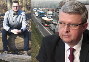 Podle ministra dopravy Karla Havlíčka blokoval schválení dostavby Pražského okruhu úředník z Prahy 22. Její starosta Vojtěch Zelenka si takové osočení nenechal líbit a ministra počastoval nelichotivým označením.