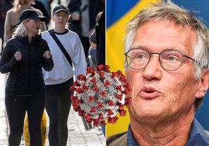 Švédsku se druhá vlna vyhnula: Je to kvůli kolektivní imunitě?