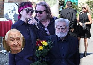 Pohřeb Miloše Nesvadby