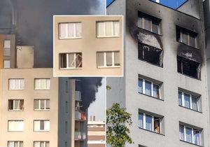 Už spali v domě hrůzy: Panelák v Bohumíně je odpojený, dva lidé stále bojují o život