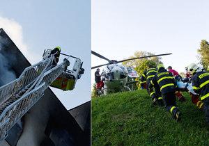 Detaily zásahu v Bohumíně z pohledu hasičů: Kritika je prý neoprávněná