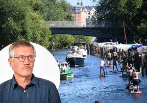 Zafungoval přece jen švédský troufalý plán? Švédové jsou prý na dosah kolektivní imunitě.