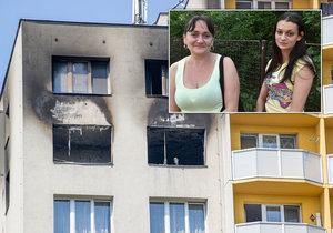 Z balkonu se vrhla i Nikola v 8. měsíci: Než skočili, objali se, říká svědkyně