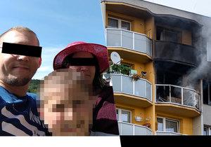Tři oběti bohumínského pekla: Lukáš, Lenka a Dominik si užívali léto ještě pár dní před smrtí