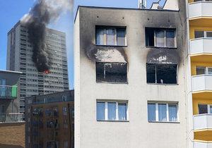 Tragédie v Bohumíně, požár hotelu Olympik: Co dělat, když vám oheň odřízne přístupovou cestu? Hasiči radí