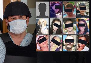 Toto jsou tváře obětí masového vraha Zdeňka, který způsobil požár v bohumínském paneláku.