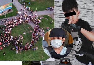 Bolestná pieta za 11 obětí z Bohumína: Honzíkovi (†8) do nebe poslali srdce, ultrazvuk nenarozeného miminka pro těhotnou Nikolu (†17)