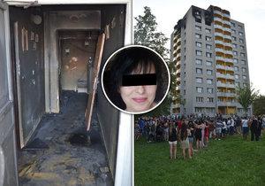 Žaneta unikla ohnivému peklu přes balkon: Její dcery a vnouček zemřeli