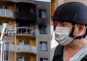 Žhář z Bohumína ohrožoval rodinu zbraní: Po útoku v paneláku se chtěl zabít v autě!