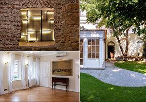 Barokní vila je na prodej.