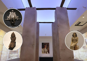 V Národním muzeu byla zahájena obří výstava Sluneční králové o starověkém Egyptě.